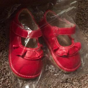 Other - Red squeak shoes